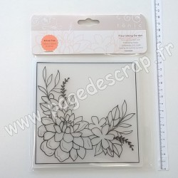 TONIC STUDIOS EMBOSSING FOLDER FLOURISHING GARDEN
