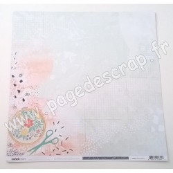 KAISERCRAFT CRAFTERNOON COLLECTION EMBROIDERY 30.5 cm x 30.5 cm