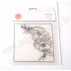 TONIC STUDIOS EMBOSSING FOLDER BOTANICAL BLOOM