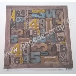 KAISERCRAFT ANTIQUITIES COLLECTION PRECIOUS 30.5 cm x 30.5 cm