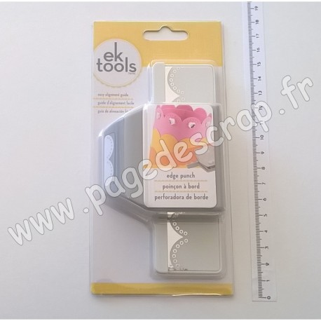 EK TOOLS PUNCH EDGE DOUBLE DOTTED LACE