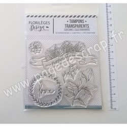 FLORILEGES DESIGN TAMPONS CLEAR GREEN ATTITUDE
