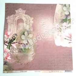 LORBLOOM02  -  LORELAI DESIGN COLLECTION BLOOM N°02  30,5 cm X 30,5 cm