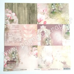 LORBLOOM06  -  LORELAI DESIGN COLLECTION BLOOM N°06  30,5 cm X 30,5 cm