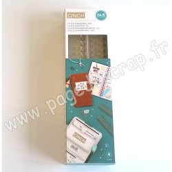 WE R MEMORY KEEPERS THE CINCH FILS POUR RELIURES 2,5 cm 30,5 cm GOLD x4 pièces
