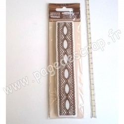 STAMPERIA TAMPON CAOUTCHOUC LACE WITH HOLE