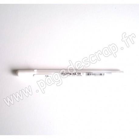 XPGB08 50   SAKURA GLAZE GELLY ROLL WHITE