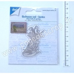 60021501   JOY!CRAFTS DIES CUTTING & EMBOSSING SHOE FULL OF SPRING
