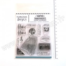 FDCL120002   FLORILEGES DESIGN TAMPONS CLEAR SO COSY