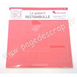 GAB311A   EASY SCRAP GABARIT RECTAMBULLE