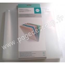 660249    WE R MEMORY KEEPERS CHEMISE DE CLASSEMENT EXTENSIBLE pour papier 30.5 cm x30.5