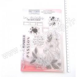 MPC514   CHOU & FLOWERS COLLECTION COULEUR BOHEME TAMPONS CLEAR LA VIE EST UNE FLEUR