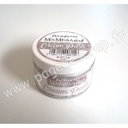 K3P53A   STAMPERIA CREAM PASTE MÉTALLIQUE 150ml ARGENT