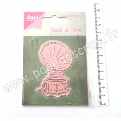 6002/0793   JOY!CRAFTS CUTTING & EMBOSSING DIE BACK IN TIME