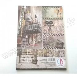 CBCL036   CIAO BELLA MODERN TIMES 9 imprimés R/V A4 190g