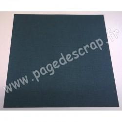 CARDSTOCK VINTAGE VERT CEDRE 30.5 cm x 30.5 cm