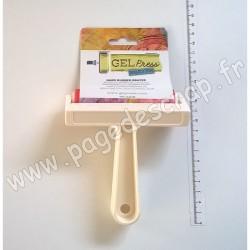 10820WHT   GEL PRESS  BRAYER EN CAOUTCHOUC DUR 10,16 cm