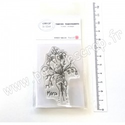 T0920-SA114   COMPTOIR DU SCRAP TAMPON TRANSPARENT MAIN