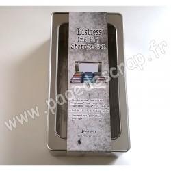 TDA68075   RANGER TIM HOLTZ DISTRESS INK PAD STORAGE TIN (pour 15 pads)
