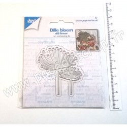 6002/1536   JOY!CRAFTS DIES CUTTING & EMBOSSING DILL FLOWER