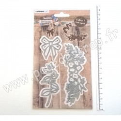 STENCILSUB288   STUDIO LIGHT CUTTING & EMBOSSING DIES SUMMER BREEZE nr.288