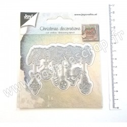 6002/1346   JOY!CRAFTS DIES CUTTING & EMBOSSING CHRISTMAS DECORATIONS