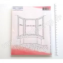 COT109   CHOU & FLOWERS COLLECTION ESPRIT COTTAGE TAMPONS EZ BOW-WINDOW