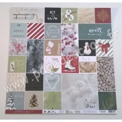 FDPI420007   FLORILEGES DESIGN COLLECTION OH WINTER 1   30.5 cm x 30.5 cm