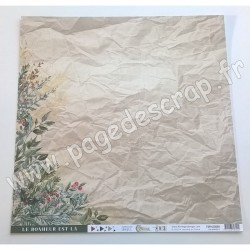 FDPI420009   FLORILEGES DESIGN COLLECTION OH WINTER 3   30.5 cm x 30.5 cm