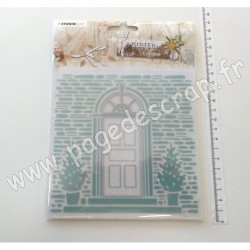 EMBWC07   STUDIO LIGHT WINTER CHARM CUTTING & EMBOSSING FOLDER 150mm x 150mm NR.07
