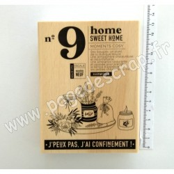 FHA121029  FLORILEGES DESIGN COLLECTION DOLCE VITA TAMPON BOIS SWEET HOME