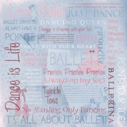 I LOVE BALLET COLLAGE