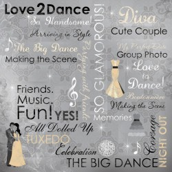 LOVE 2 DANCE COLLAGE