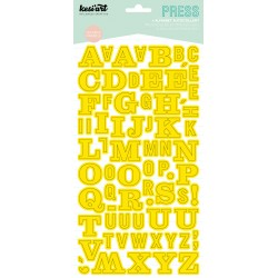 ALPHABET PRESS JAUNE