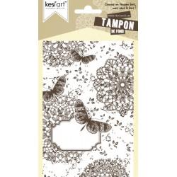 TAMPON DE FOND BUTTERFLIES