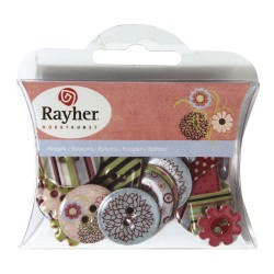 BOUTONS PAPIER SPRING