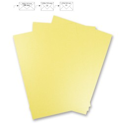 PAPIER METALLIQUE CITRON