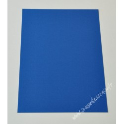 CARTE A4 BLEU ROYAL