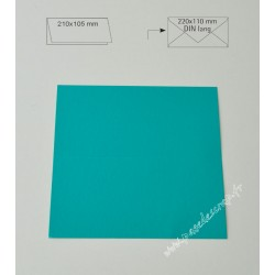 CARTE DIN TURQUOISE