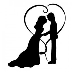 TB SILHOUETTE COUPLE