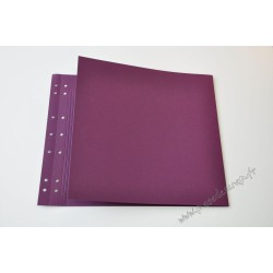 PAGE DOUBLE AUBERGINE