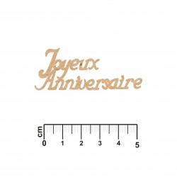 JOYEUX ANNIVERSAIRE MINI