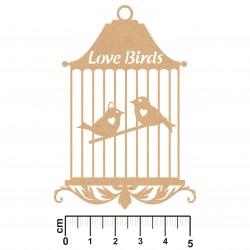 CAGE OISEAU LOVE BIRDS