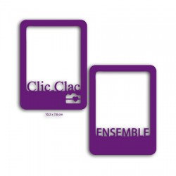 CARTES ENSEMBLE E CLIC CLAC