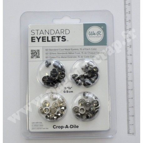 OEILLETS STANDARD CUIVRE METAL FROID X60