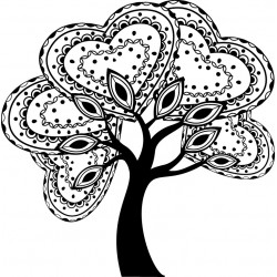 TAMP G ARBRE ZENTANGLE
