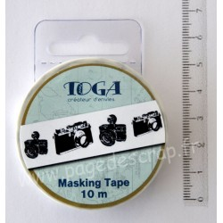 MASKING TAPE APPAREIL PHOTO 1.5cm x 10m