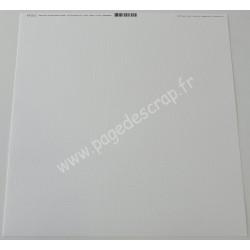 BAZZILL PAPIER SCRAP WHITE