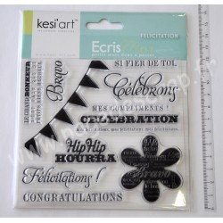 KESI'ART TAMPONS CLEAR FELICITATIONS