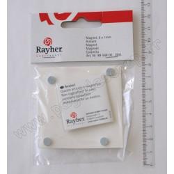 AIMANT diamètre 6 mm, épaisseur 1 mm, 20 PIECES
